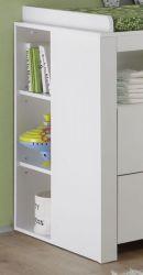 Regal für Wickelkommode Olivia 32 x 93 cm Babyzimmer weiß