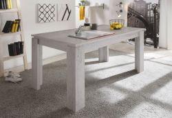 Esstisch Ausziehtisch Stone Beton Design 160 cm ausziehbar auf 200 cm Küchentisch mit Einlegeplatte