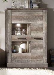 Highboard Montreal Canyon Monument Eiche Schrank 106 x 149 cm