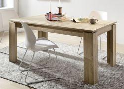 Esstisch in Eiche / Alteiche Küchentisch ausziehbar 160 - 200 cm Holztisch Canyon