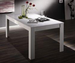 Tisch Esstisch weiss Hochglanz Lack 160 x 90 Livorno7