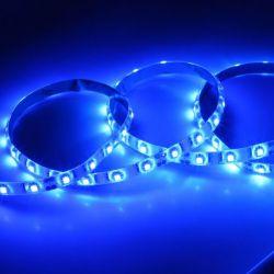 LED Flexband blau Set 2x 50 cm / 100 cm mit Netzstecker, Trafo und Zuleitungen selbstklebend