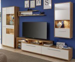 highboard vitrine wei hochglanz lack italien savonio ebay. Black Bedroom Furniture Sets. Home Design Ideas