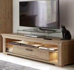 TV-Unterteil Lowboard Salaro in Bramberg Fichte Landhaus Fernsehtisch 169 x 52 cm