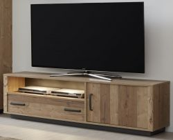 TV-Lowboard Lodge in Bramberg Fichte TV-Unterteil 161 x 50 cm
