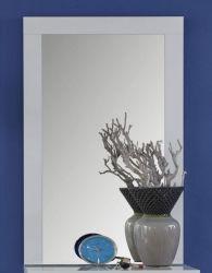 Flurgarderobe Wandspiegel Kito in Hochglanz weiß Garderobenspiegel 58 x 95 cm