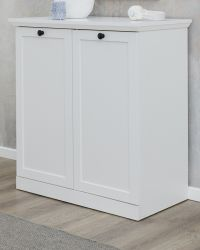 Kommode Baxter in weiß 81 x 88 cm im Landhausstil als Schuhschrank