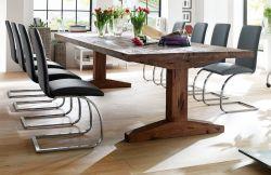 Esstisch Lunch in Eiche Bassano massiv matt lackiert Küchentisch Massivholztisch 260 x 100 cm