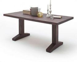 Esstisch Lunch in Eiche verwittert massiv matt lackiert Küchentisch Massivholztisch 220 x 100 cm