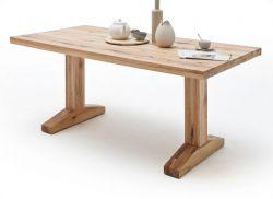 Esstisch Lunch in Wildeiche massiv matt lackiert Küchentisch Massivholztisch 260 x 100 cm