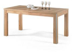 Esstisch Espero in Eiche Bianco massiv Tisch 160 / 210 / 260 x 90 cm ausziehbar