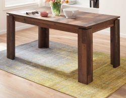 Esstisch Indy in Old Used Wood Shabby Küchentisch ausziehbar mit Einlegeplatte 160 - 200 x 90 cm Holztisch