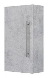 Bad Hängeschrank Livono in Stone Design grau Badezimmer Schrank 35 x 62 cm Badmöbel