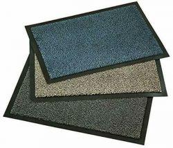 Fußmatte 40 x 60 cm in blau, beige oder anthra Schmutzfangmatte mit Gummirand