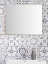 Badezimmer Spiegel SetOne in Sardegna grau Rauchsilber Badspiegel 60 x 55 cm