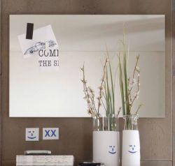 Garderobenspiegel SetOne Flur Wandspiegel rahmenlos 91 x 60 cm