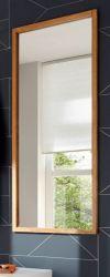 Garderobenspiegel Alwar in Eiche massiv geölt Flur Diele Wandspiegel 50 x 120 cm