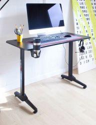Gamingtisch DX-Racer in schwarz Computertisch Gaming Desk 111 x 60 cm