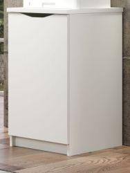 Schreibtischcontainer Basix in weiß Büro Container für Schreibtisch 40 x 76 cm