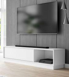 TV-Lowboard Stream in weiß TV Unterteil 140 x 36 cm